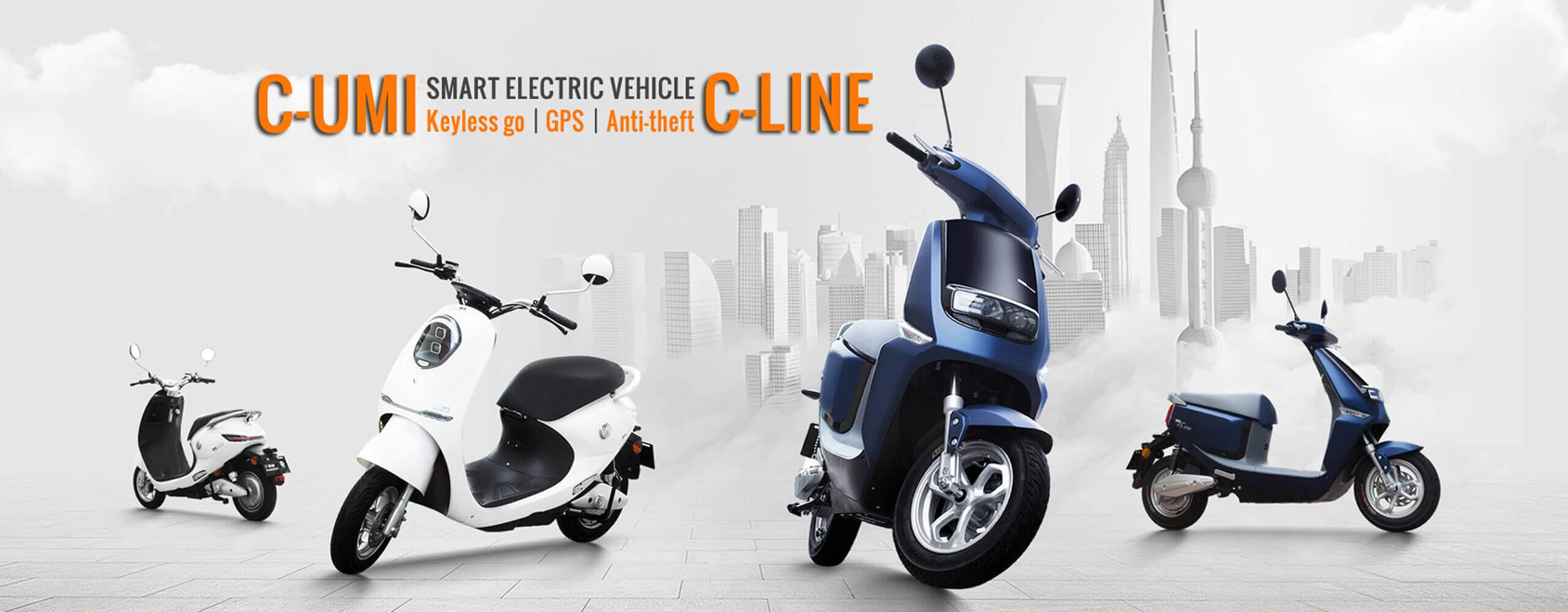 Yadea scooters